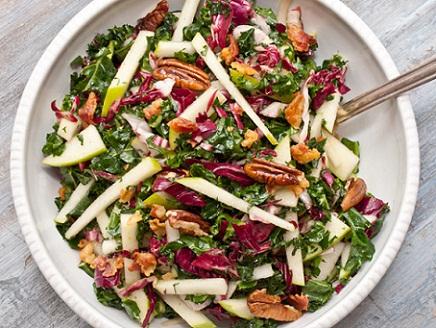 Kale, Apple, and Pancetta Salad Recipe...