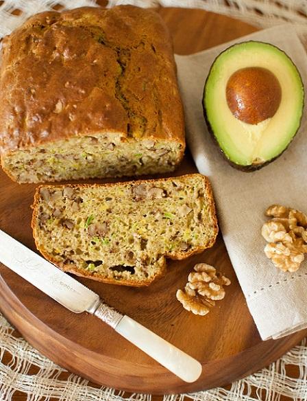 Avocado and Walnut Bread...