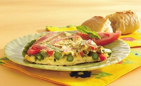 Spring Frittata Asparagus Recipe...
