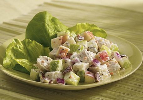 Chicken and Apple Salad Low Sodium Recipe...