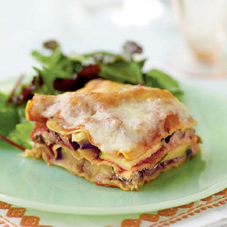 Zucchini Eggplant Lasagna...
