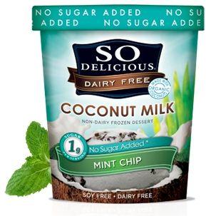 So Delicious No Sugar Added Ice Cream