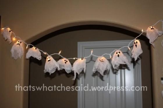 Halloween Ghost Lights | Ghost Lights 10 Cute And Creepy Diy Ghost Halloween Decor