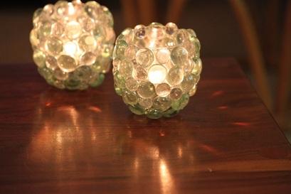 Glass Pebble 10 Beautiful Diy Votive Candle Holders