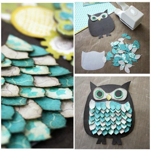 DIY Owl Paper Craft...