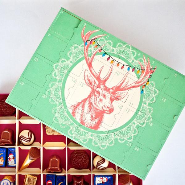 Deer Head Advent Calendar