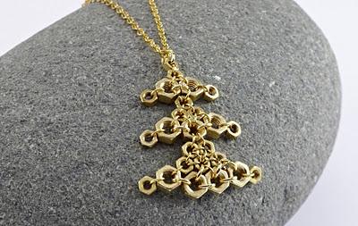 Hardware Snowflake Necklace