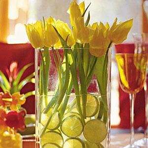 Fruit Filled Vase