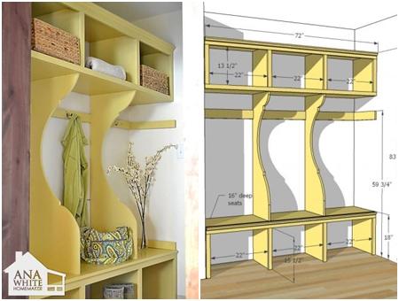 11 Genius Diy Mud Room Or Entryway Projects Diy