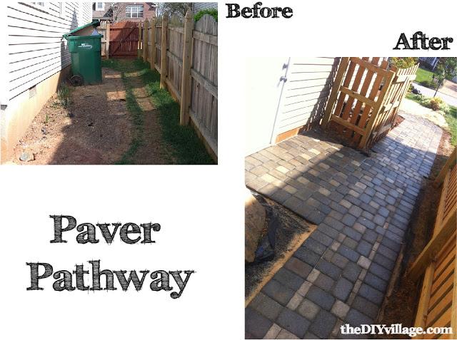 Paver Path