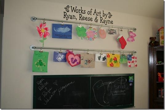 9 Diy Ways To Display Kid S Art