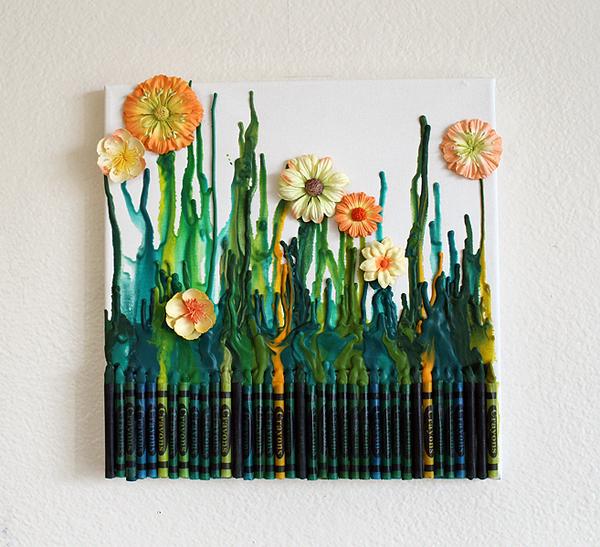 Crayon Paintings