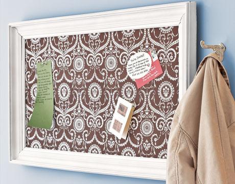 Cork Board Picture Frame