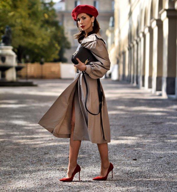 coat, fashion model, fashion, trench coat, outerwear,