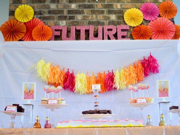 color, yellow, orange, party, quinceañera,