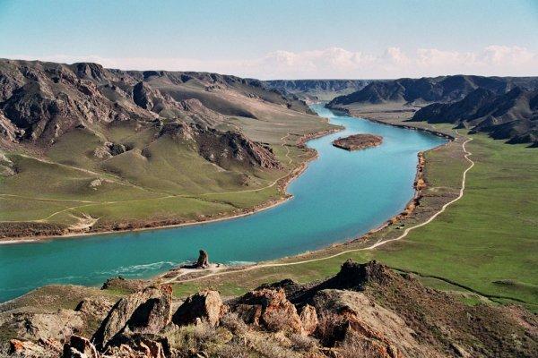Lake Balkhash, Kazakstan