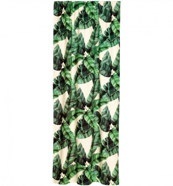 Dark Green Curtain Panels