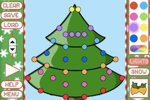 christmas tree, christmas decoration, play, illustration, CLEAR,