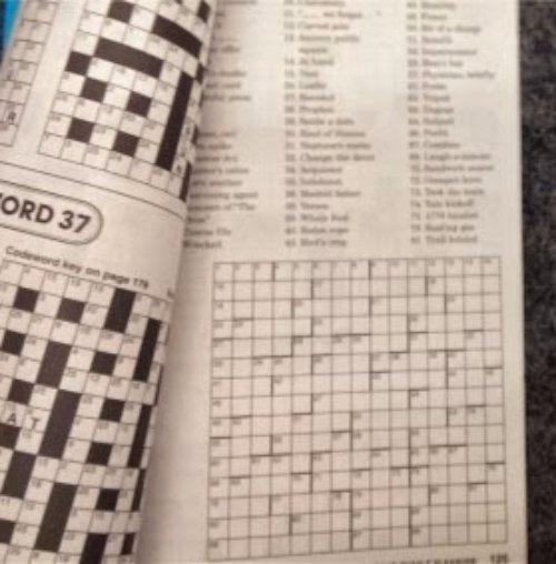Crossword Puzzle Writer