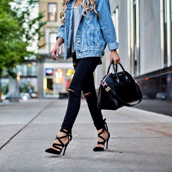 footwear, clothing, black, shoe, denim,