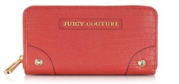 Red Zip Continental Wallet