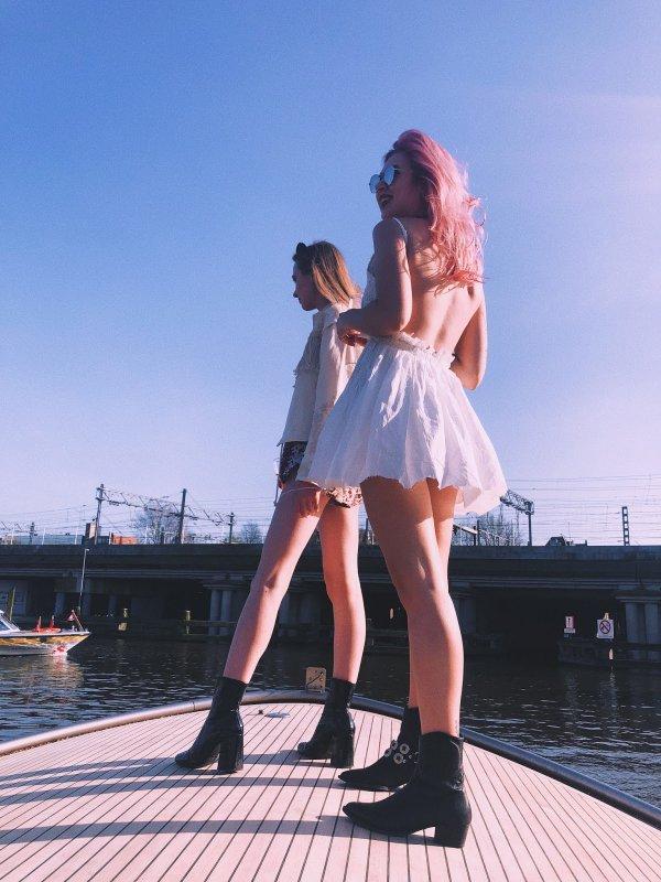 clothing, girl, lady, fun, sky,