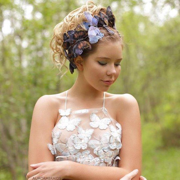 clothing, fashion accessory, child, hairstyle, woodland,