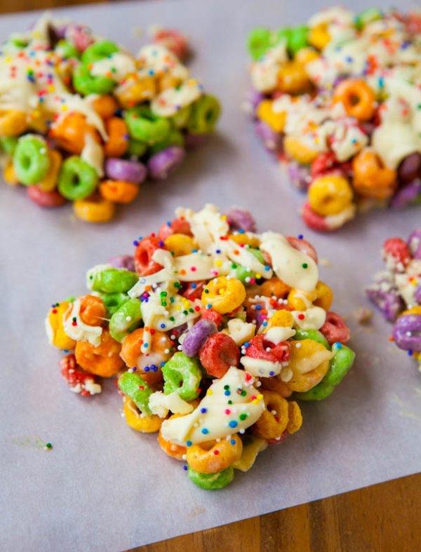 Fruit Loop Cereal Isn't Flavored