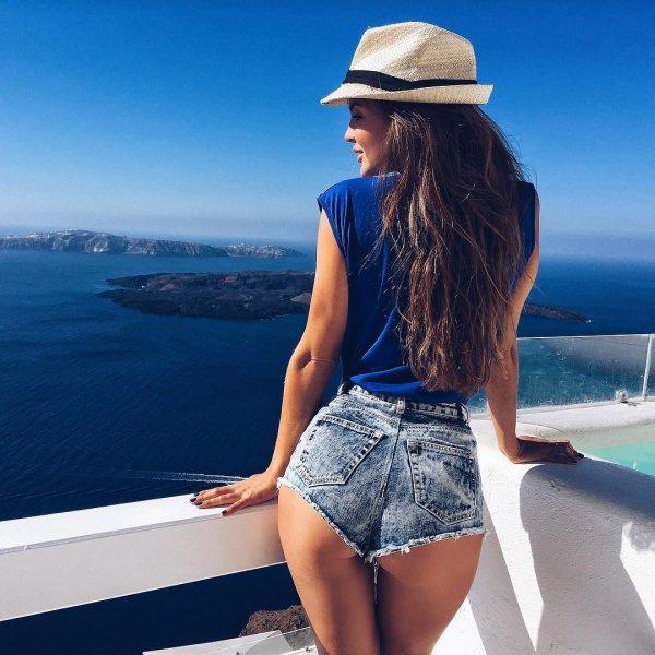 clothing, blue, beauty, sea, vacation,