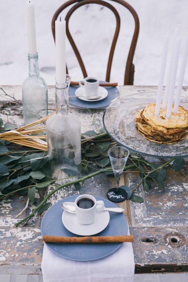 Scandinavian Inspired Tablescape