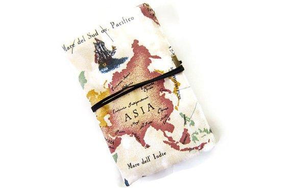 Map Passport Cover