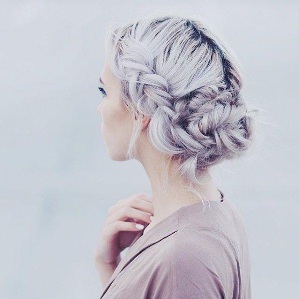 hair, hairstyle, lilac, sketch, head,