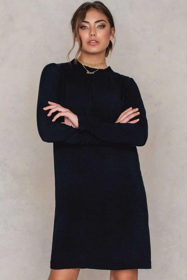 clothing, black, sleeve, dress, little black dress,