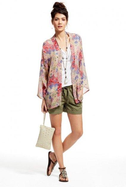 Byzance Floral Silk Jacket