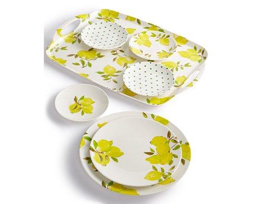 yellow, dishware, tableware, plate, dinnerware set,