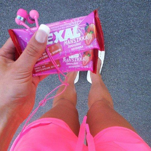Open Your Snacks before You Start Running