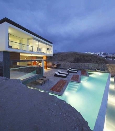 A House on the Cliffs