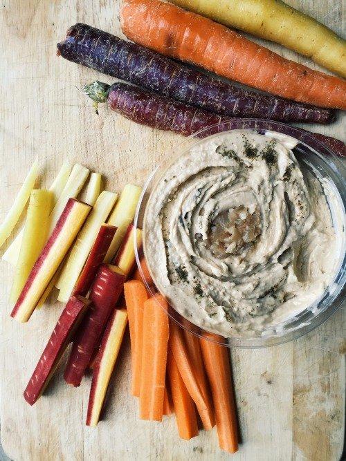 vegetable, food, carrot, dip, vegetarian food,