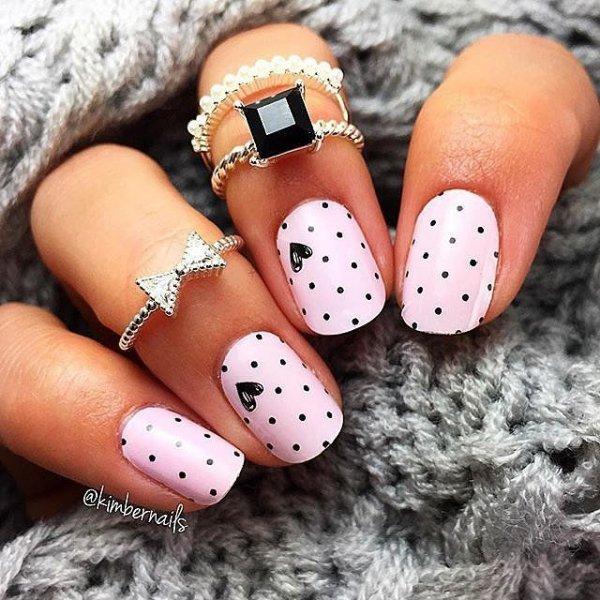nail, finger, pink, hand, nail care,