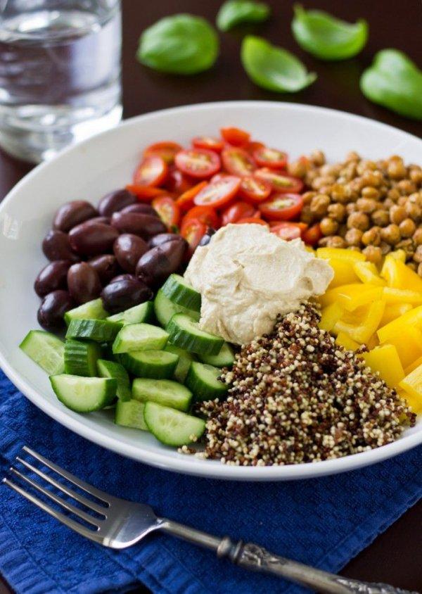 Mediterranean Vegan Bowl
