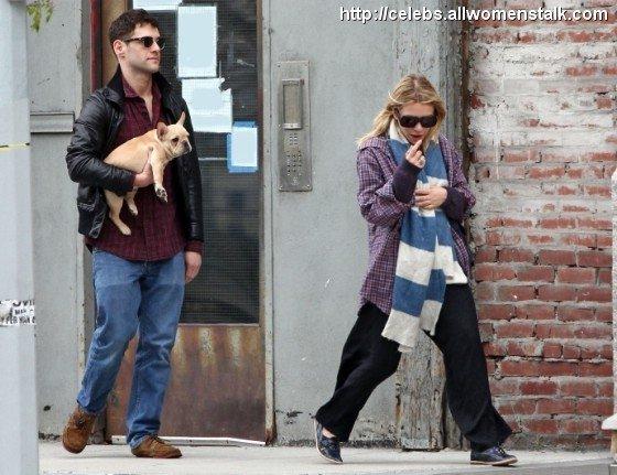 Ashley Olsen Goes One Size Too Big