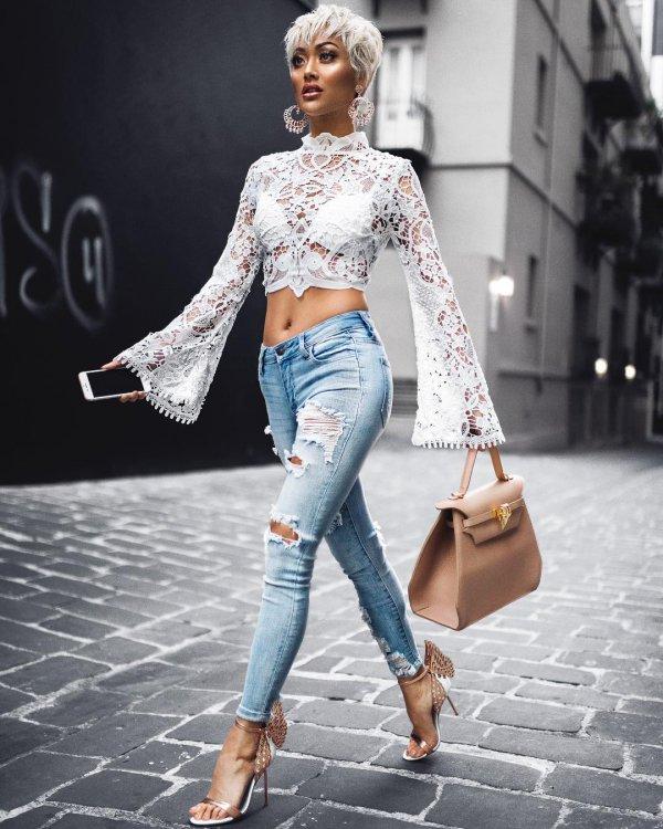 jeans, fashion model, shoulder, denim, fashion,