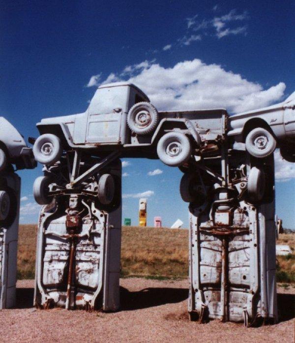 Carhenge, sculpture, machine, 1724I,