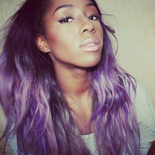Purple with Subtle Grey