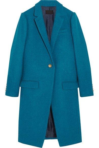 Collection Harris Tweed Wool Coat by J.CREW