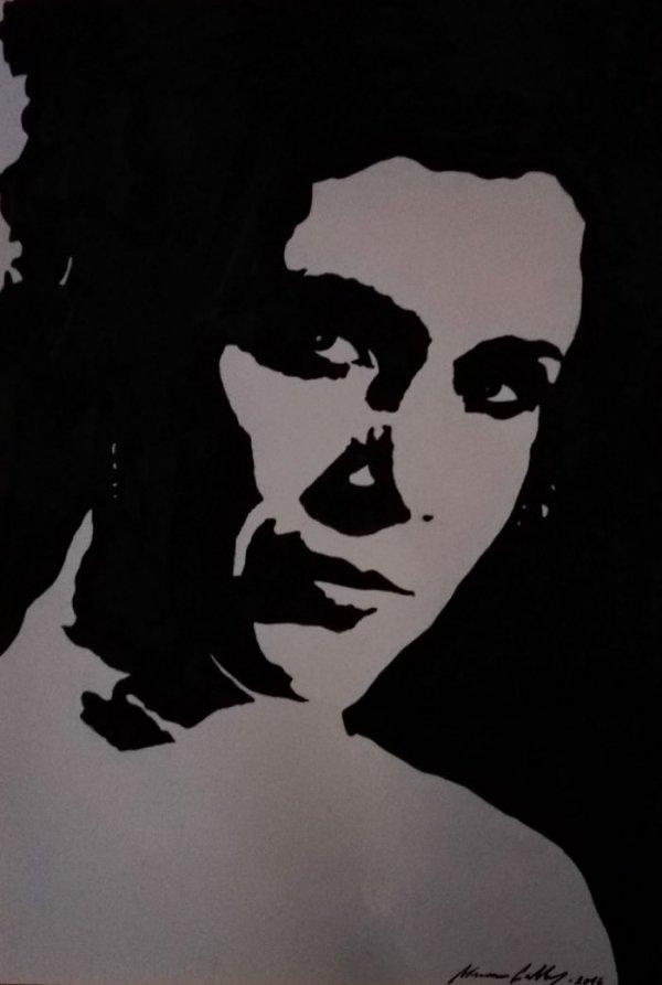 black, art, drawing, sketch, monochrome,