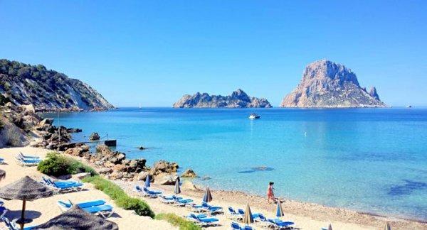Jac Jagaciak Loves to Soak up the Sun in Ibiza