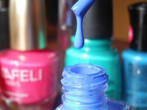 Paint Them with Nail Polish
