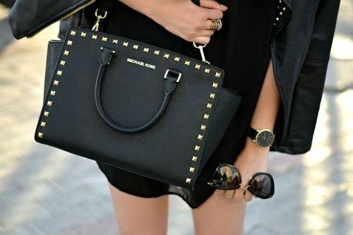 Michael Kors Selma Stud Cross-body Bag