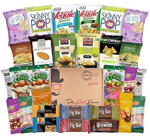 Skinny Pop, gift basket, food, product, hamper,